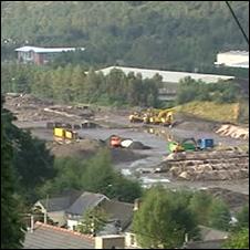 Ebbw Vale steelworks site