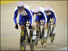Olympic cyclists