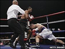 David Haye knocks-out Tomasz Bonin