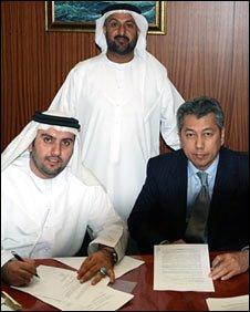 Dr Sulaiman Al-Fahim and Pairoj Piempongsant