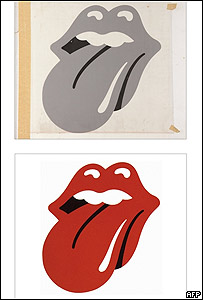 Logotipo original de The Rolling Stones