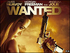Wanted film poster