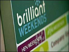 Brilliant Weekends company logo