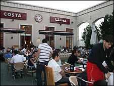 Costa coffee in Damascus