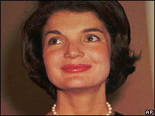 Jacqueline Bouvier Kennedy, pictured in 1961