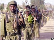 Ethiopian soldiers. File photo