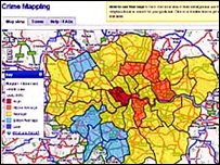 Metropolitan Police's Crime Mapping site