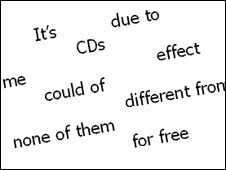 Examples of good and bad grammar