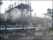 Schwarze Pumpe CCS power plant (BBC)