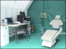Dental tent