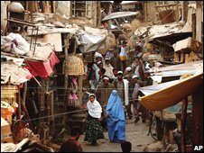 Afghan market, file pic from 2004