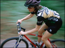 Mountain biker (Picture: Eye Wire)
