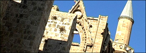 The cathedral-mosque of Famagusta