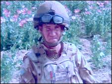 Corporal Tomos Stringer