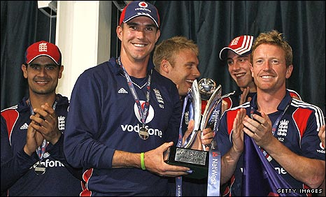 England won the one-day series 4-0