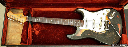 Guitarra de Hendrix