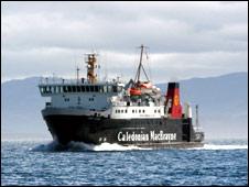 CalMac vessel