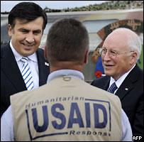 Чейни и Саакашвили