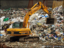 A landfill site (Getty)