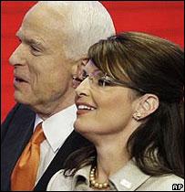 John McCain y Sarah Palin
