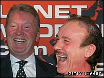 Frank Warren and Enzo Calzaghe