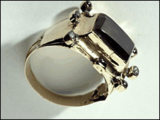 A ring - Picture courtesy National Museums Scotland