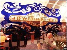Wetherspoon's pub