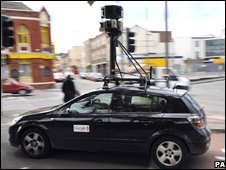 Google mapping car, PA