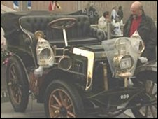 A car at a previous Coventry Festival of Motoring