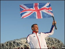 Great Britain's Daniel Crates ahead of the Paralympics