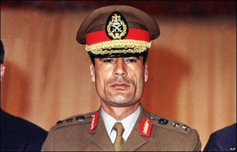 Muammar Gaddafi, 1970