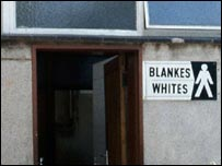 Whites only toilets in Cape Town 1985