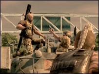 Imagen del videojuego Mercenarios 2