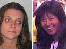 Bonnie Barrett, 24, and Xiao Mei Guo, 29,