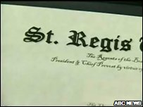 St Regis Diploma