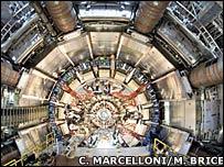 El detector Atlas del Gran Colisionador de Hadrones