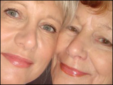 Jessica Looke and Marilyn Baldwin