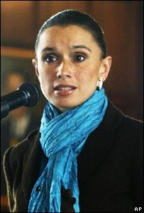 La ex canciller colombiana, Consuelo Araújo Castro