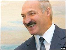 President Alexander Lukashenko, file image