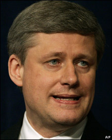 Canadian Prime Minister Stephen Harper (file photo)
