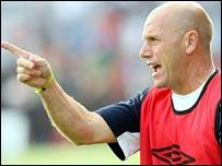 Northern Ireland U21 manager Steve Beaglehole