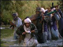 """لقطة من مسلسل """"الطريق إلى كابول"""""""