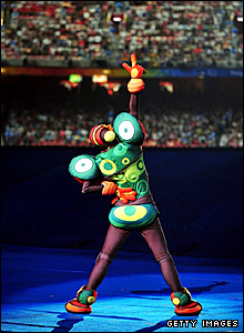 Beijing Paralympics mascot