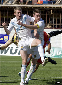 Darren Fletcher and Stephen McManus