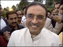 Asif Ali Zardari (6/9/08)