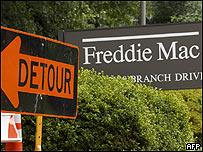 Letrero de Freddie Mac