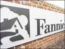 Sign for Fannie Mae