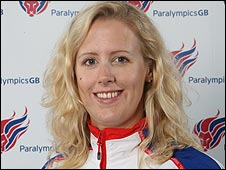 Paralympic rower Naomi Riches