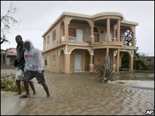 Floods in Providenciales, Turks and Caicos 07/09