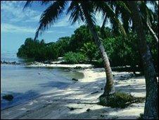 Micronesian island